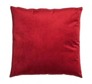 Aksamitna poduszka RED HEARD Czerwona