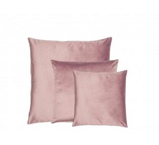 Aksamitna poduszka SWEET HOME SET Różowa