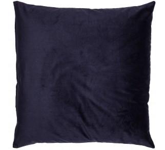 Aksamitna poduszka REFLEX BLUE granatowa