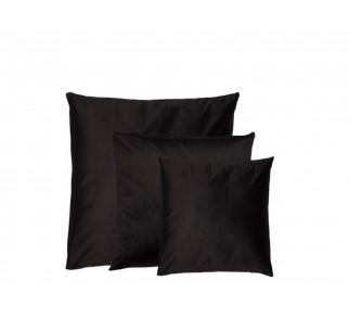 Aksamitna poduszka SIN SIN SET Czarna