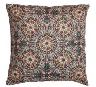SIRUS aksamitna, wzorzysta poduszka w stylu Mandali