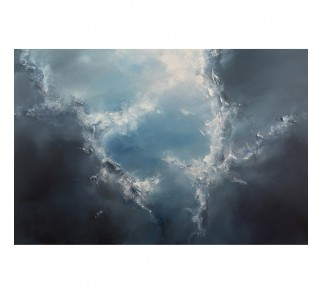 "Druk na płótnie ""Otwarte niebo IV"" 120x80 cm - obraz abstrakcyjny"