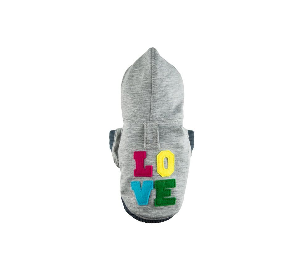 Bluza Love Grey