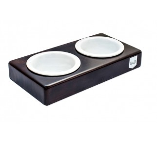 Miska Duo Ceramic Chestnut