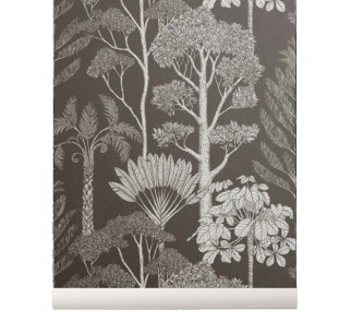 Tapeta Trees - ferm LIVING | brown grey