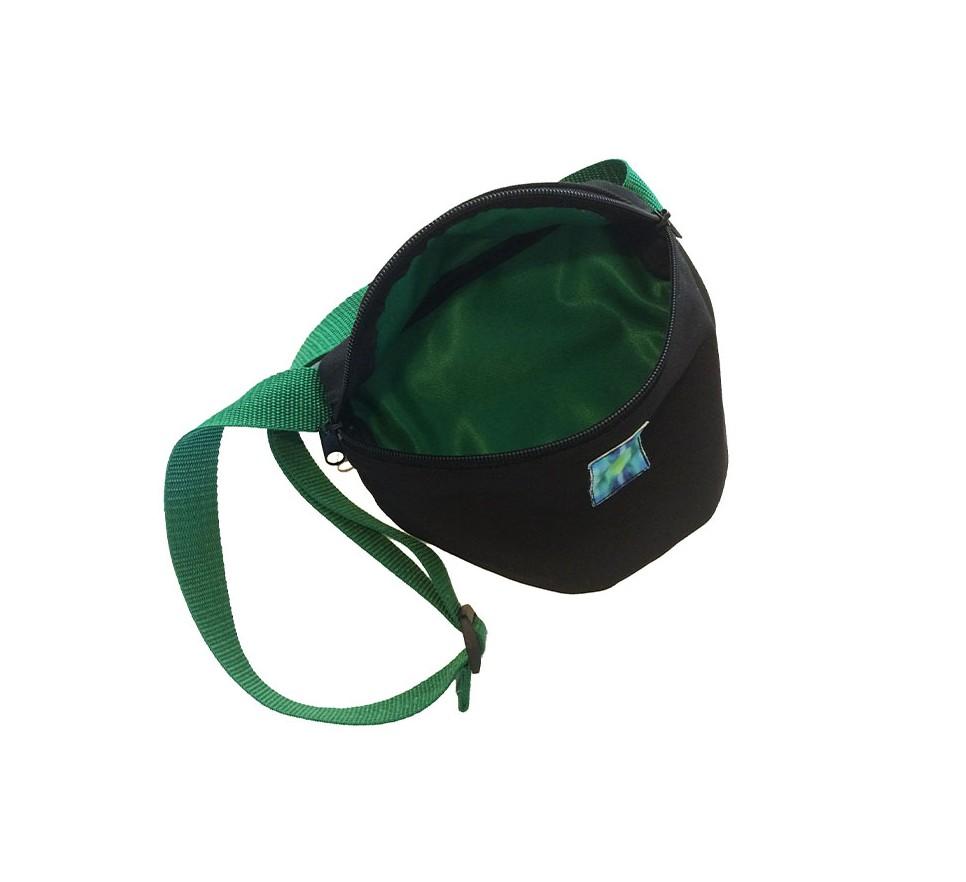 Nerka / saszetka z zieloną naszywką