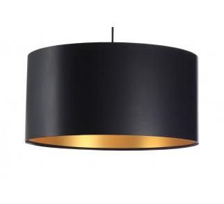 Lateksowa lampa wisząca Macodesign Moon czarno złota z kolekcji Glamour