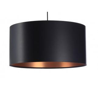 Lateksowa lampa wisząca Macodesign Moon czarno miedziana z kolekcji Glamour