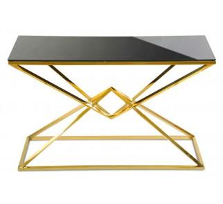 Konsola Diamanto Gold Black