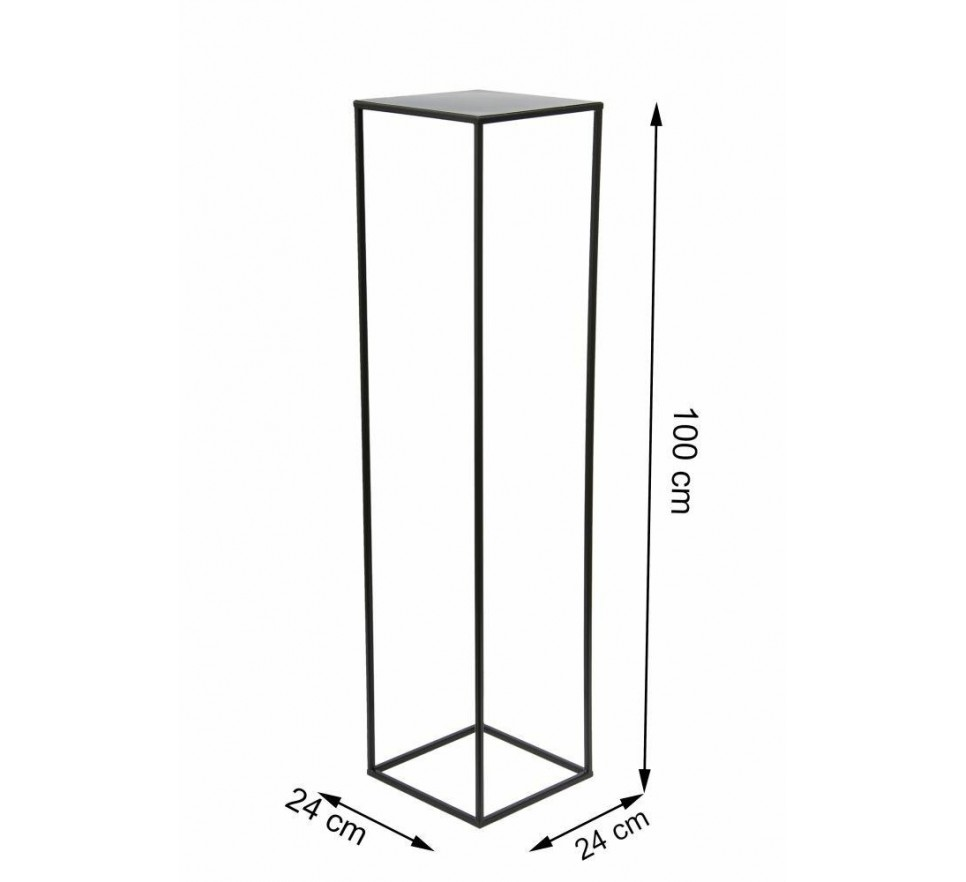 Nowoczesny kwietnik stojący 100 cm