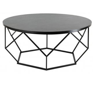Stolik kawowy Diamond 90 cm czarny