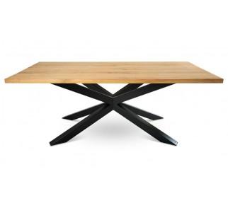 Stół pająk OakLoft 160x100 cm jasny dąb