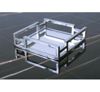 Taca kwadratowa z lustrem szer. 20 cm