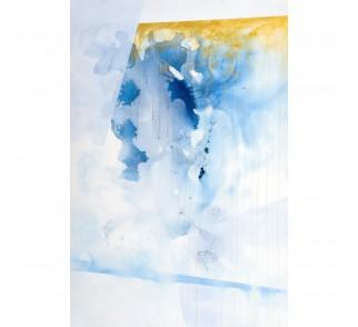 """Obraz ręcznie malowany """"Zima w koronie"""" 80x120 cm"""