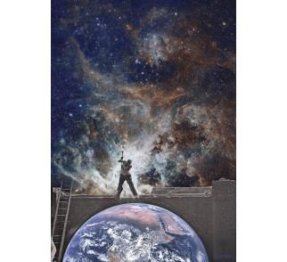 "Kolaż / plakat ,,Atlas"" (30 x 40 cm)"