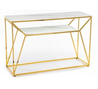 Konsola Farasin Gold White 120 cm