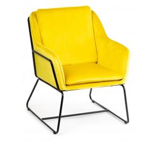 Fotel Stella Black Yellow