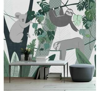 Tapeta Jungle Stories - Lazy