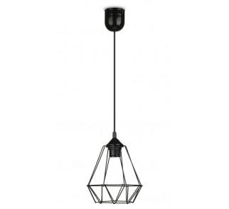 Lampa wisząca Paris Diamond 19 cm czarna