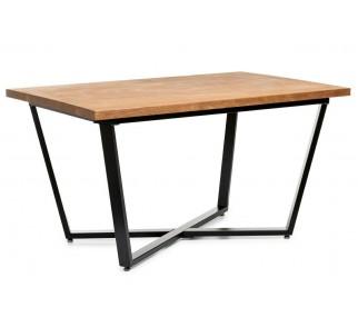 Stół jadalniany duży 150x90cm ciemny dąb