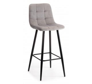 Krzesło barowe Hoker Lava Black Gray