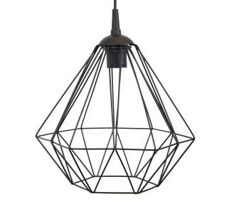 Lampa geometryczna Diamond czarna 25 cm