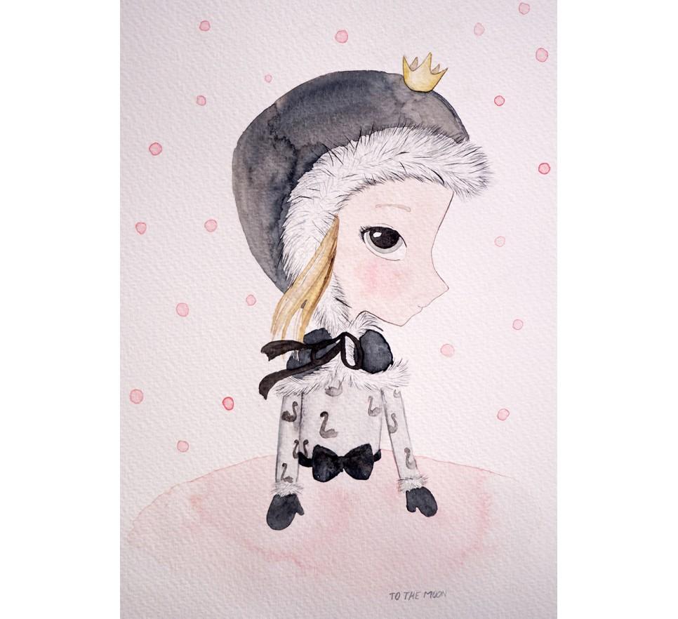 Plakat Fairy - To The Moon