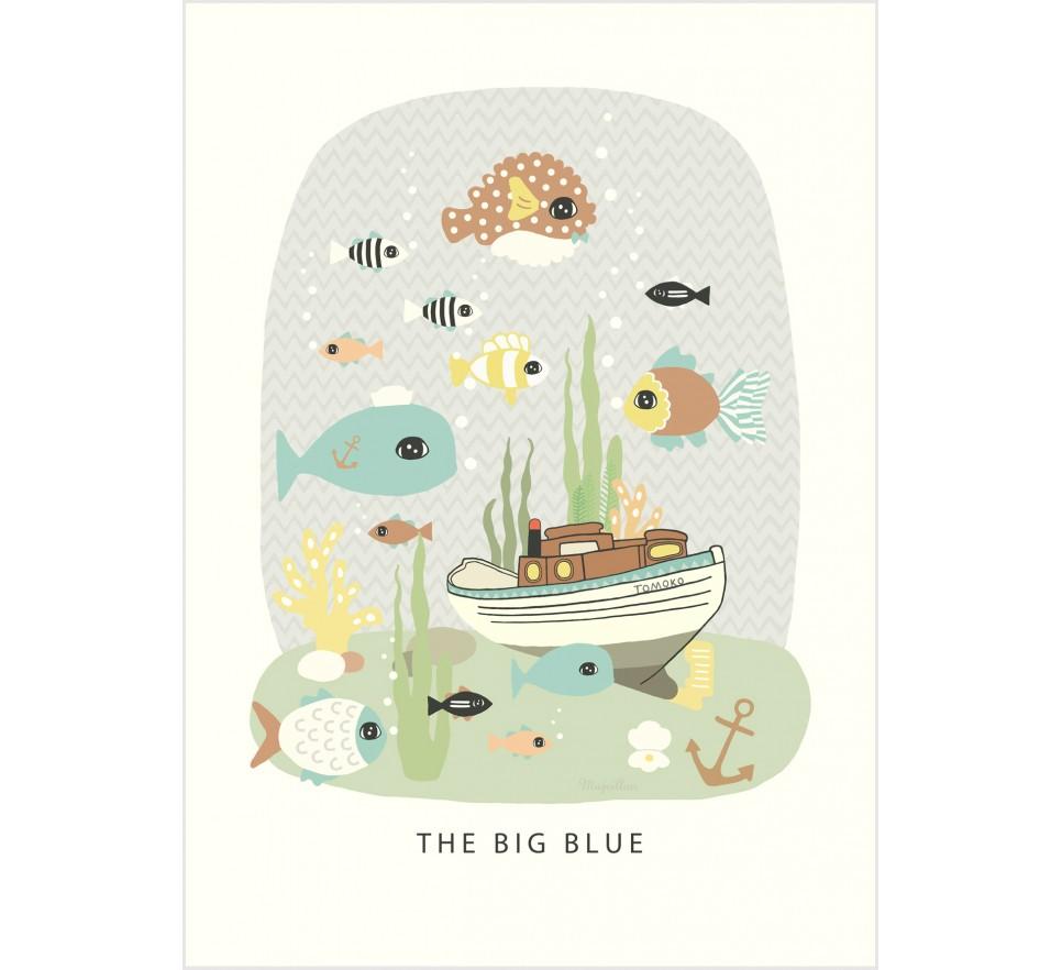 Plakat The Big Blue - Majvillan
