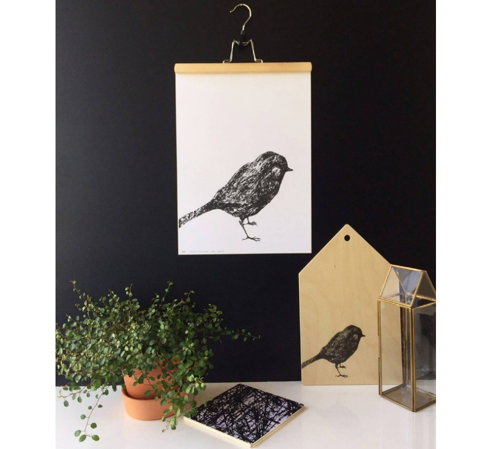 Plakat A3 LITTLE BIRD - Miiko