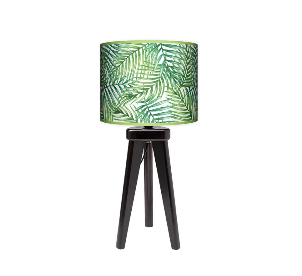 Lampa stołowa trójnóg mały - Palma_wenge