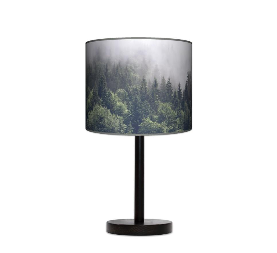 Lampa stołowa duża - Mgła_wenge