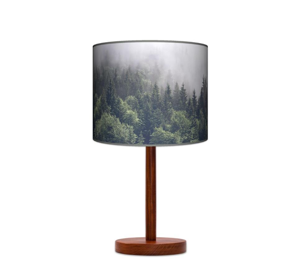 Lampa stołowa duża - Mgła_calvados
