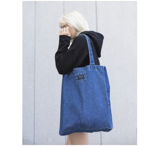 Denim bag in navy