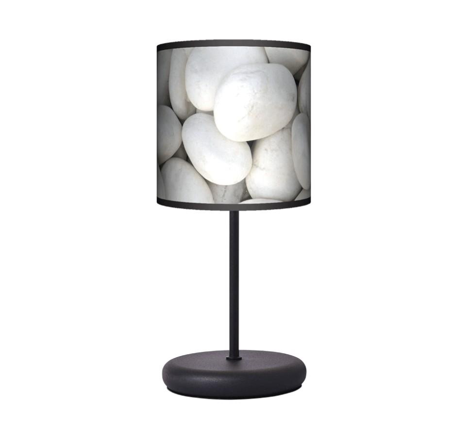 Lampa stołowa EKO - Biały kamień