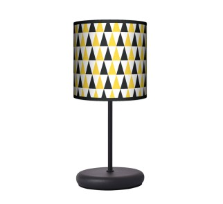 Lampa stołowa EKO - Black & Yellow