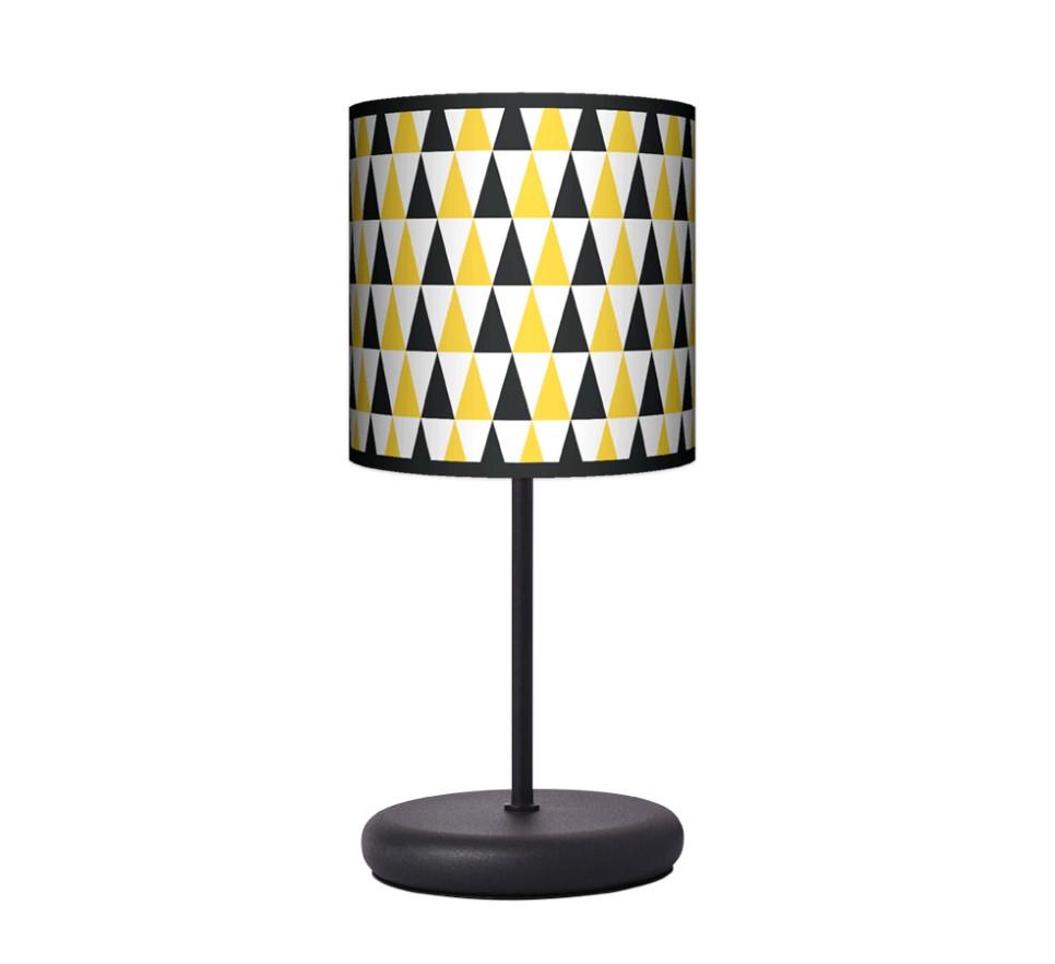 Lampa stołowa EKO - Black & Yellow
