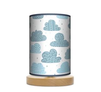 Lampa stojąca nocna mała - Chmury