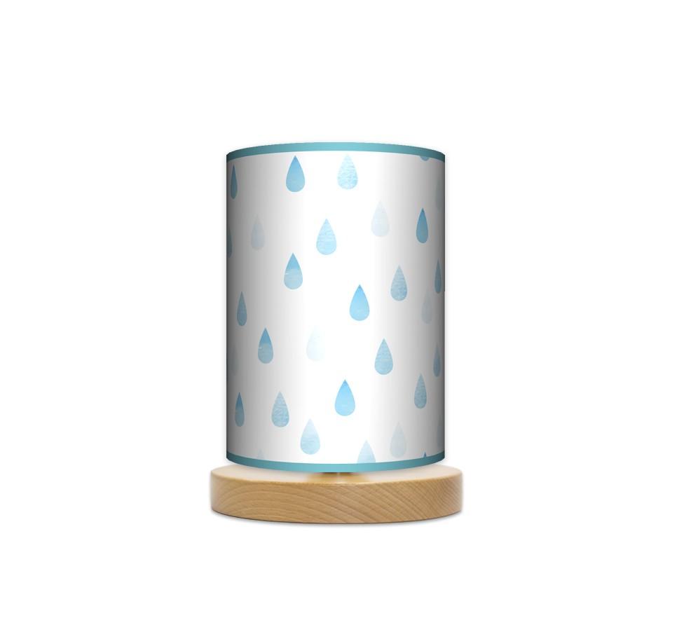 Lampa stojąca nocna mała - Deszczyk