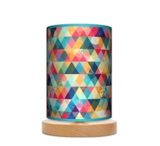 Lampa stojąca nocna mała - Kolorowa