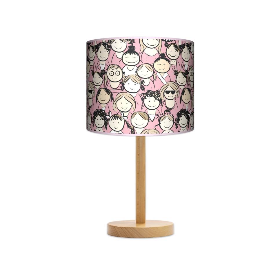 Lampa stołowa duża - Girls