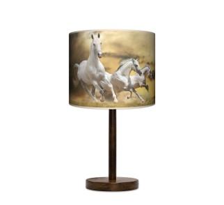 Lampa stołowa duża - Horses